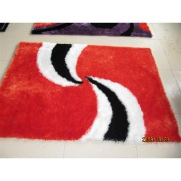 Der Cyclone-Teppich mit Stretch-Garn und Seide