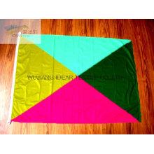 100 % Polyester außen Multicolor Fahnen