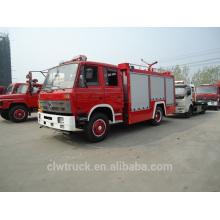 Dongfeng tanque de agua camión de bomberos, 4x2 China camión de bomberos 5t