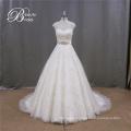 New Arrival Modest High Neck Wedding Dress Online Shop