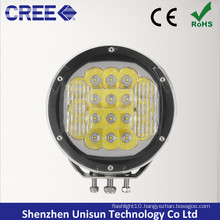 "12V/24V 7"" Round 90W CREE LED 4X4 Spotlight for off-Road"