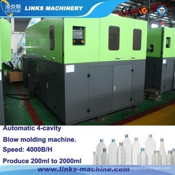 Precio automático 4000bph de la máquina de moldeo por soplado