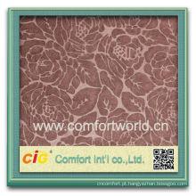 Moda novo design muito elegante 95 poliéster 5 tecido spandex