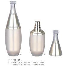 Recipiente de garrafa de loção cosmética vazia