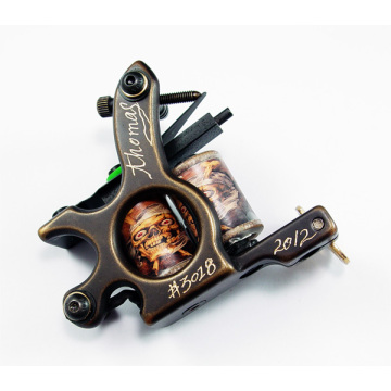New Shader And Liner Brass Carving Tattoo Machines