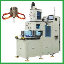 High speed stator coil winding machinery