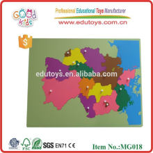 Preschool educational wooden teaser puzzles for sale