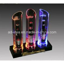 Présentoir électronique de LED / exposition pour la bouteille