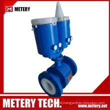 Electromagnetic digital water battery operated flow meter