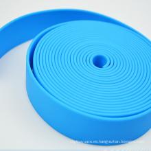 Correas revestidas poliuretano hechas punto tejer jacquard impreso modificado para requisitos particulares modificado para requisitos particulares