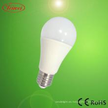 SAA aprobado bombilla LED de 9W LED redondo lujo
