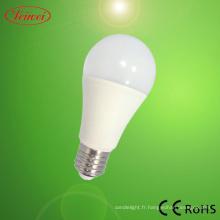 ASA approuvé ampoule de LED 9W LED rond fantaisie