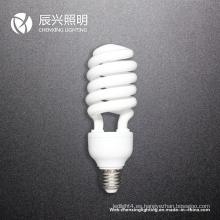 Lámpara ahorro de energía media espiral 23W
