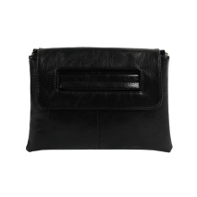 Ladies PU Leather Large Envelope Väskor Clutch Bag