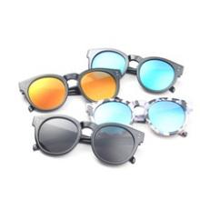 2016 Солнцезащитные очки Мужская мода, Цветная пленка Меркурий Солнцезащитные очки оптом