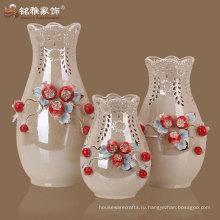 ручной домашний декоративный популярный дизайн керамическая Таблица ваза
