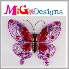 Vendeur chaud nouvellement insecte en forme de mur en métal décor