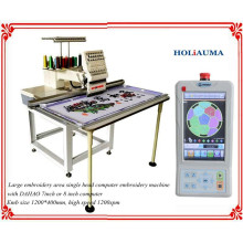 HOLiAUMA Großer Arbeitsbereich Einzelkopf Computergestützte Stickmaschine
