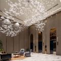 Custom warm design wedding decoration chandelier