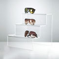 Clear Acrylic Display Steps for The Tiered Display
