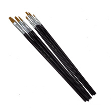 High Quality Artist Paint Brush Set 7pcs Painting Brush For Watercolor Paintings