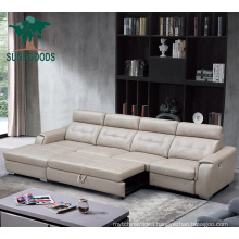 Functional Pull out Manual Recliner Sofa Bed Design for Home