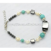 Fashion pearl ball bracelet