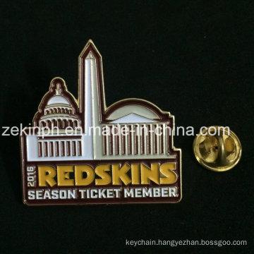 Iron Stamped Soft Enamel Emblem Lapel Pin Badge