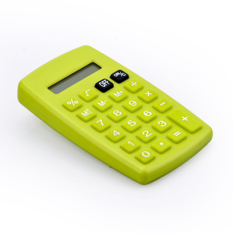 8 Digit Electronic Pocket Calculator for Kids