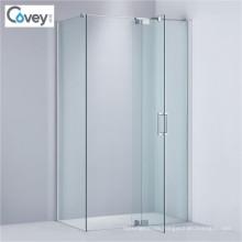 Artículos sanitarios de vidrio templado ducha recinto / ducha pantalla (A-KW02)