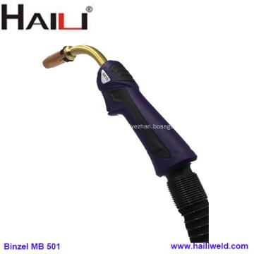 Antorcha de soldadura MIG / MAG refrigerada por agua HAILI 501D