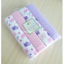 Baby Receiving Blankets Flannel 4-Pack