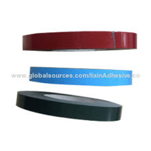 Double-sided PE foam tape for auto industry