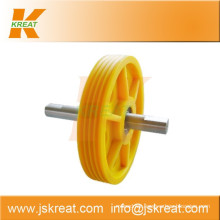 Elevator Parts|Elevator Nylon Deflector Sheave Manufacturer|sheave pulley