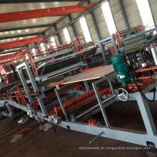 Telhado de alumínio que faz a linha de produção descontínua do painel de sanduíche do plutônio