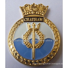Gold Plating & Soft Enamel Lapel Pin (MJ-PIN-128)
