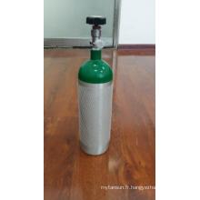Cylindre de gaz en aluminium 2L de haute qualité