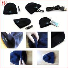 BV / BSCI LICENCIA buletooth altavoz de auriculares hecho gorrita tejida sombrero