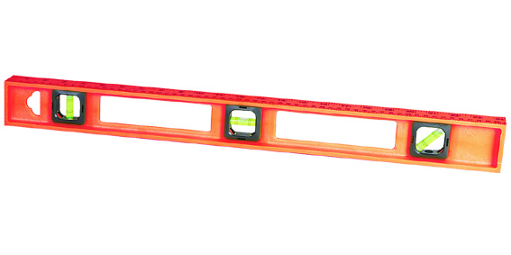 "12"" Plastic spirit level ABS"