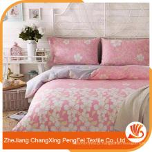 Folha de cama de impressão de flores de design novo