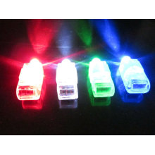 dedo led luz laser dedo led
