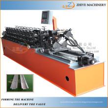 Galvanized Drywall Usado Omega Perfil Light Gauge Enmarcación De Acero Cold Roll Formando La Máquina