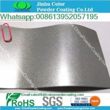 metallic glitter sparkle RAL9006 silver powder coating