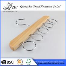 Popular Luxury Wooden Hanger Pet Custom Logo Wooden Hangers