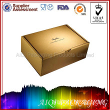 Eco Friendly Label Printing Cardboard Packaging Custom Shoe Box for Sal (AQP018)