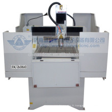 JK - 6060M machine de moteurs pas à pas haute précision de gravure sur métal