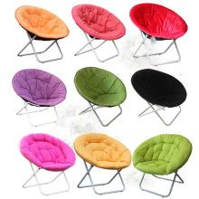 Cadeira de lua dobrável colorida com estrutura de aço (SP-162)