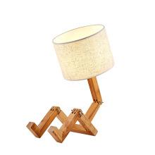 Bedroom Wooden Table Lights