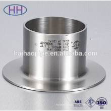 carbon steel and stainless steel stub end