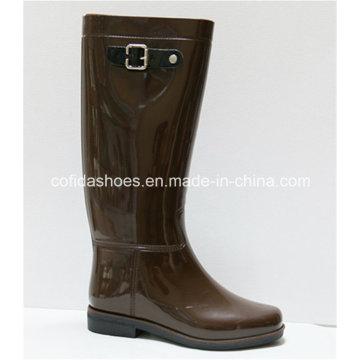 Nouvelle mode Comfort Flat Lady Bottes de pluie pour femme
